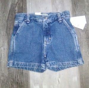 NWT Girl's OshKosh B'gosh Jean Shorts
